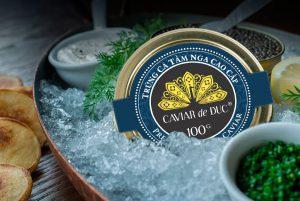 Trứng cá tầm Caviar de Duc (100gr)