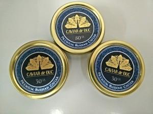 Hộp bảo quản Caviar de Duc