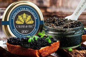 Trứng cá tầm Caviar de Duc (200gr)