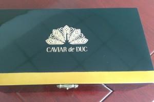 Hộp sơn mài Caviar de Duc