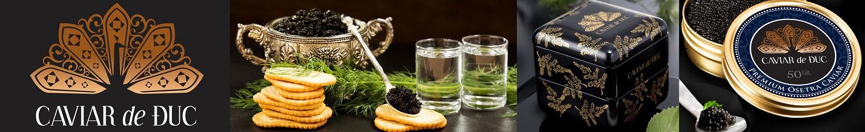 Caviar de Duc | Trứng cá tầm | Hotline: 0914840789